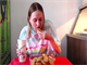 Nela Zisser sets Guinness World Record for eating chicken nuggets