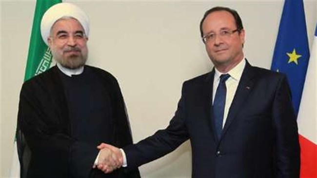 Iranian, French presidents discuss terrorism over phone