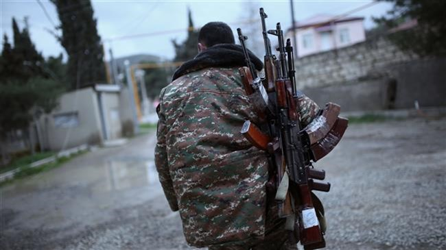 Nagorno-Karabakh says fighter killed by Azeri gunfire