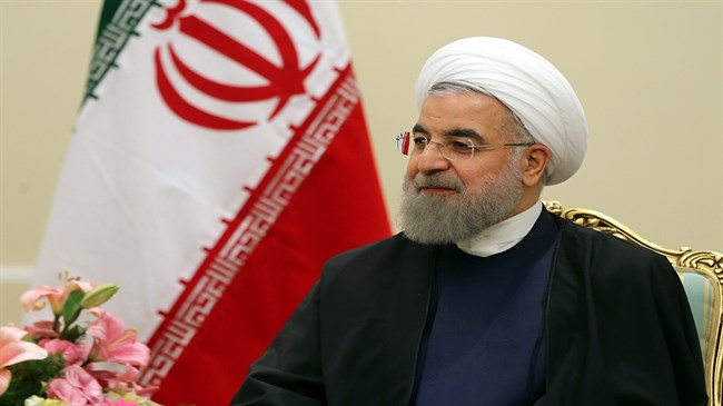 Rouhani receives new envoys
