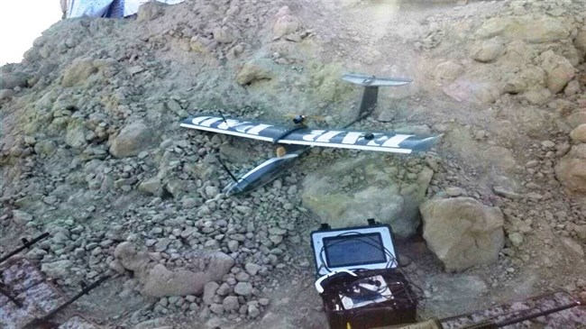 Iran's Army unveils hand-launched drone in drill