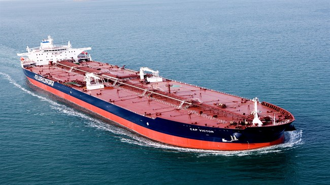 Tankers show sharp rise in Iran's crude oil shipments to Europe