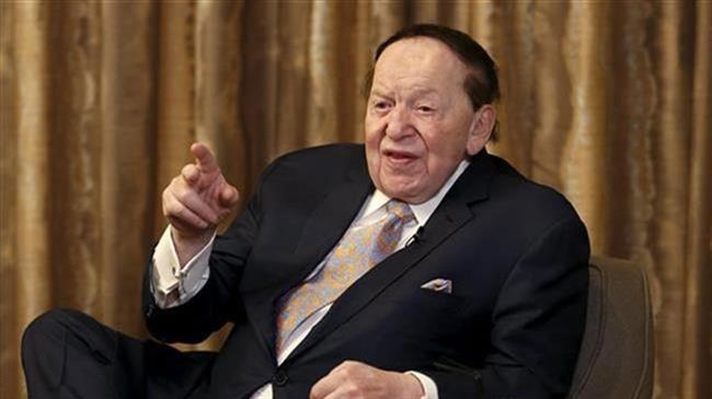Billionaire Zionist Adelson furious at Tillerson over Israel: Report