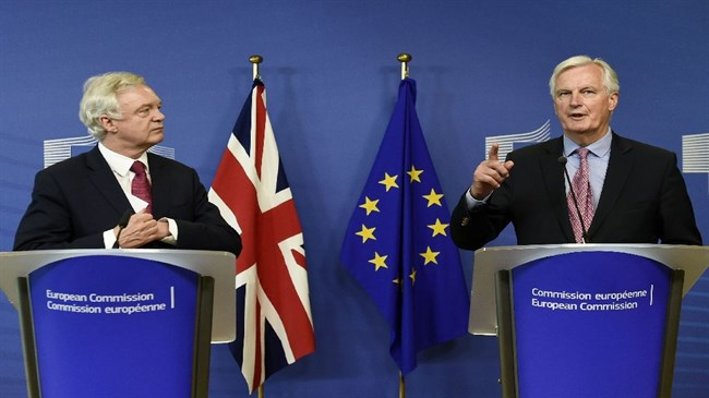 Britain, EU kick off 'positive' Brexit talks