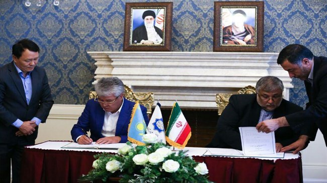 Iran, Kazakhstan sign cultural agreement