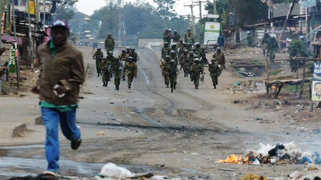 Eleven dead in Kenya as post-election riots flare (video)