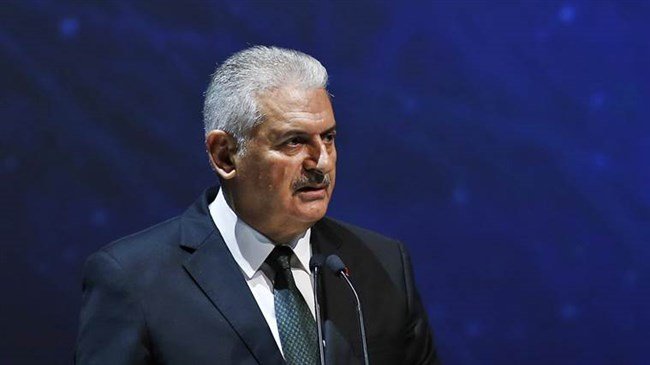 Turkish PM: Tehran, Moscow, Ankara working on lasting truce in Syria