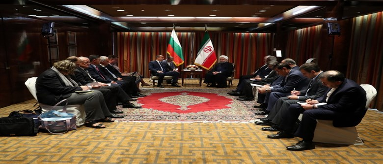 Iran backing promotion of ties with Bulgaria
