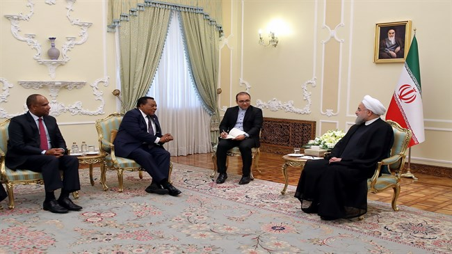 Rouhani: Tanzania is Iran's gateway to East African market