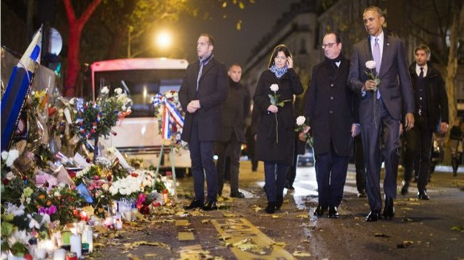 Obama to meet French presidents, past and present, on Paris trip