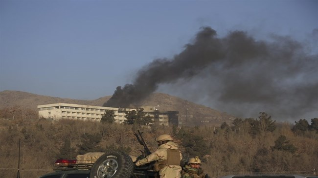Taliban attack on Afghan hotel ends after 13 hours, 18 dead (Video)