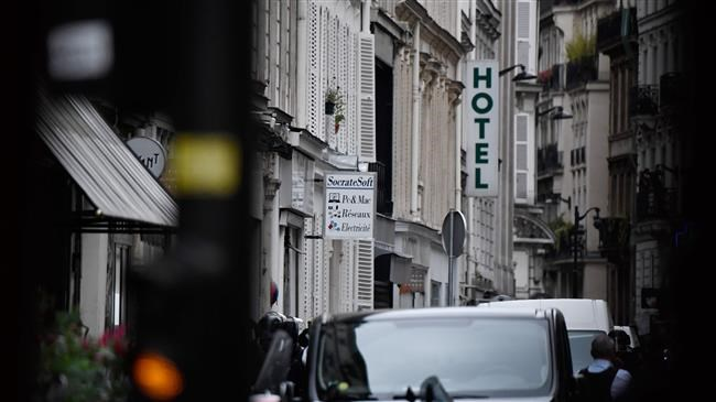 Hostage-taker holds two people in French capital