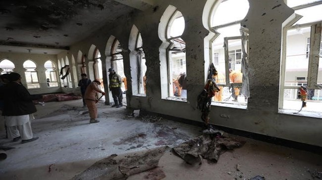 Attackers kill 29 in Afghan Shia mosque