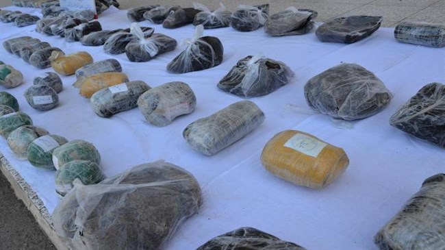 Iran's police seizes over 1.5 ton of illegal drugs