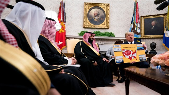 Want to punish Saudi Arabia? Cut off its weapons supply
