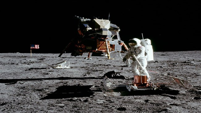 Roscosmos head promises to check whether US Moon landings really happened