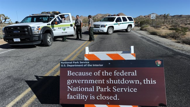 'It's a free-for-all': shutdown brings turmoil to beloved US national parks