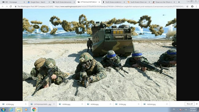 North Korea condemns US-South Korea military drill