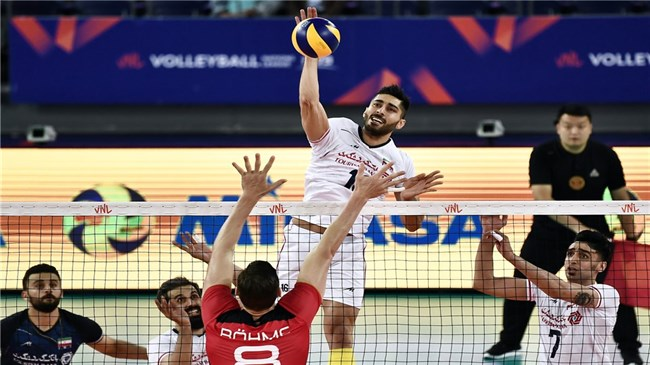 Iran beats Germany, puts perfect end to VNL Week 1