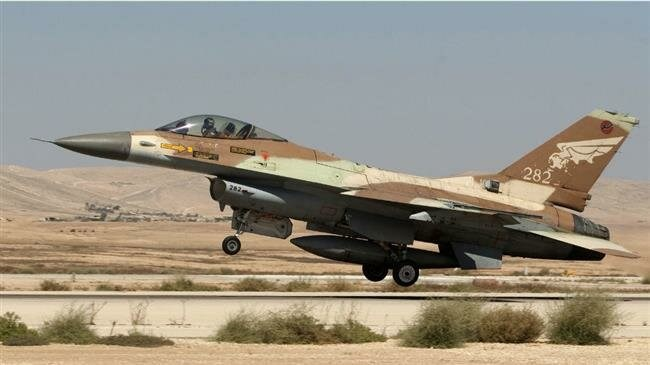 Israeli fighter jet targets Hamas position in central Gaza Strip
