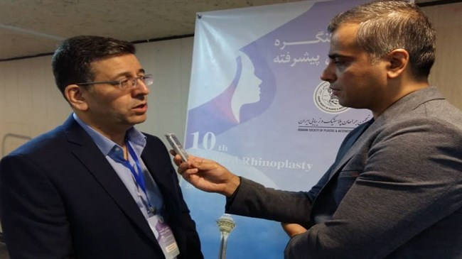 Specialist: Iranian surgeons can perform plastic surgery on all body parts, organs