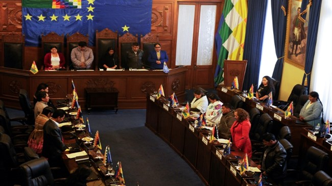 Bolivia's Congress authorizes new elections without Morales