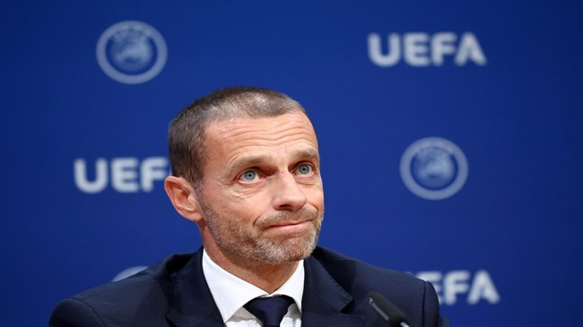 UEFA chief calls reported world league plan 'far-fetched' and 'insane'