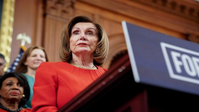 Pelosi: US House to vote on curbing Trump powers over Iran escalation
