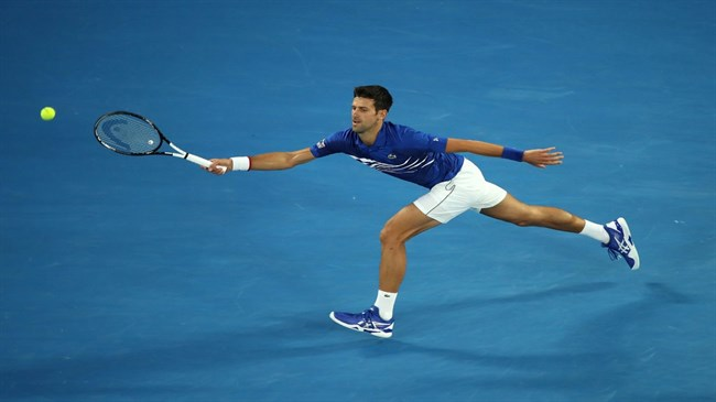 Djokovic, inspired by Nadal, Federer, begins quest for eighth AO title