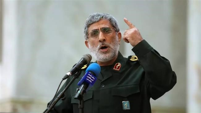 US threatens to assassinate new chief of elite Quds Force of IRGC