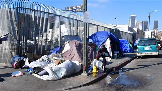 California governor calls state's homeless crisis 'a disgrace'