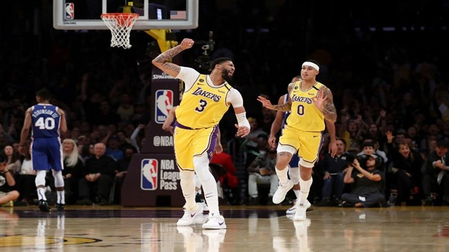 Davis scores 37, leads Lakers past Sixers 120-107