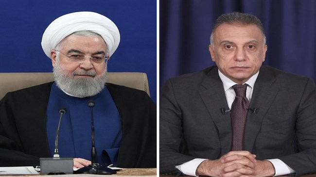 Rouhani expresses unwavering support for new Iraqi government