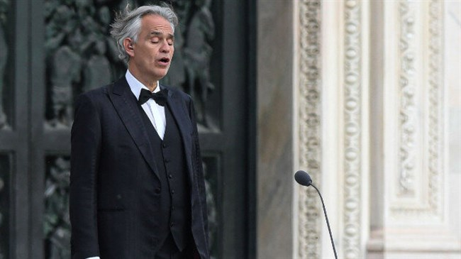 Andrea Bocelli confirms he had coronavirus, says he had a 'swift & full recovery'