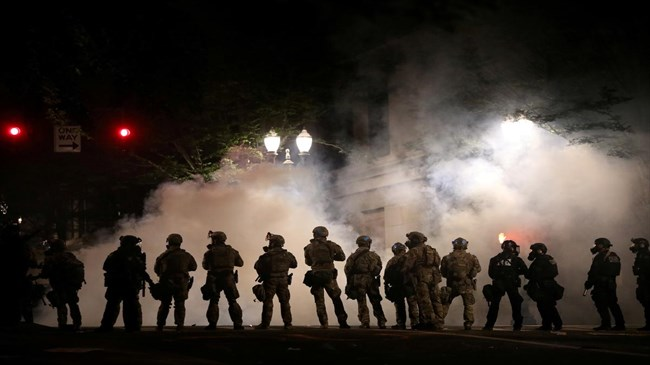 UN rights office urges US to rein in police at protests