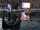 Venice opens first 'boat-in' cinema for film lovers