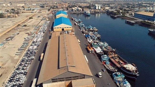 Iran exports second non-oil cargo from port of Sirik to Oman