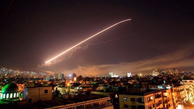 Syrian air defenses respond to fresh Israeli aggression