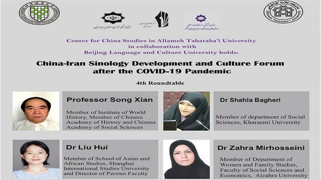 Iran, China hold online forum on Sinology development and post-pandemic culture