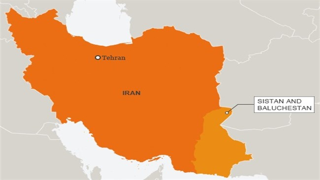 Sound bomb injures four police officers in southeast Iran