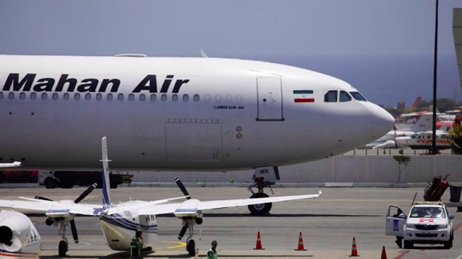 UAE companies sanctioned by US for alleged ties with Iran's Mahan airline
