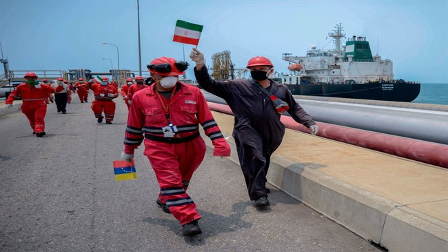 Maduro thanks Iran for helping Venezuela's oil industry overcome US sanctions