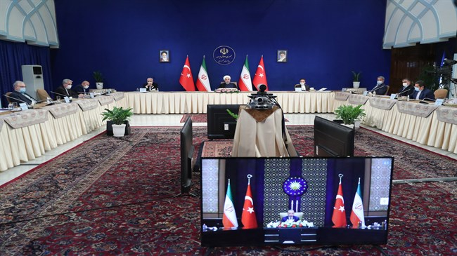 Rouhani: Iran, Turkey should boost cooperation to foil plots