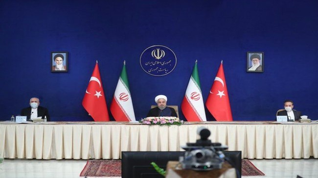 Zarif hails Iran-Turkey 'productive' High-Level Cooperation Council meeting