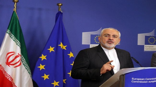 Zarif urges EU to stand up to US for JCPOA implementation