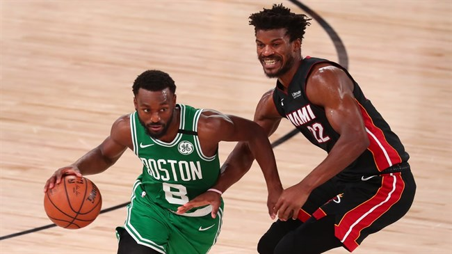 Celtics fight back against Heat in NBA East Finals