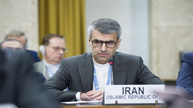 External interferences damaging for human rights: Iran's envoy