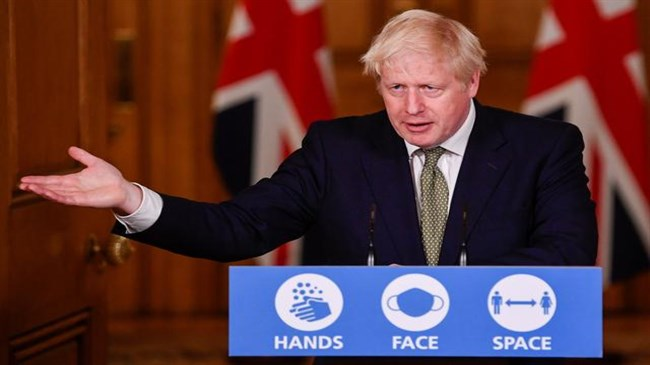 UK PM Johnson resists national lockdown but rules nothing out