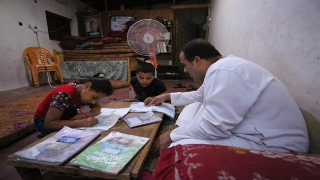 Gaza children struggle with studies during COVID-19 lockdown