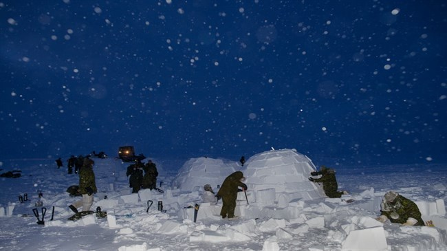 Militaries move in as Arctic ice retreats